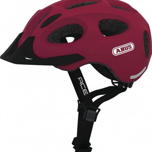 Abus Youn-I Ace Cherry Red Citycykelhjelm