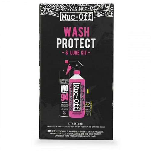 Muc-Off Wash, Protect & Lube Sommer Kit