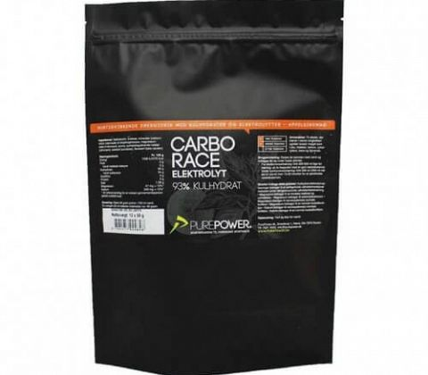 Purepower Carbo Race Elektrolyt Appelsin portion