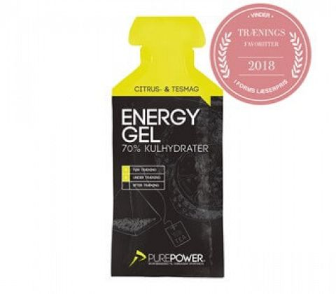 Purepower Energy Gel med Te & Lemon
